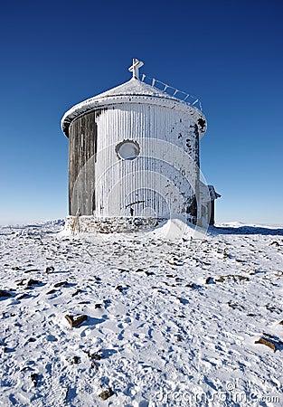 Snowed chapel