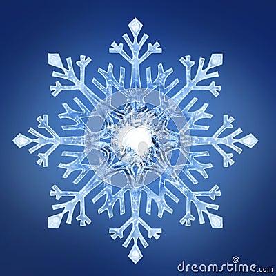 Free Snowflake 2 Royalty Free Stock Photo - 26955665