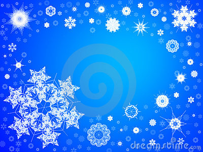 Snowflake Background 103