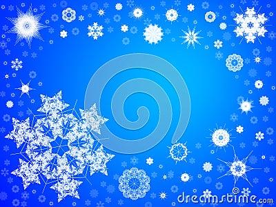 Snowflake Background 103