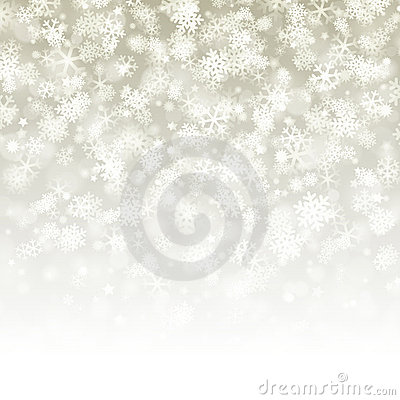Snowflake background pattern