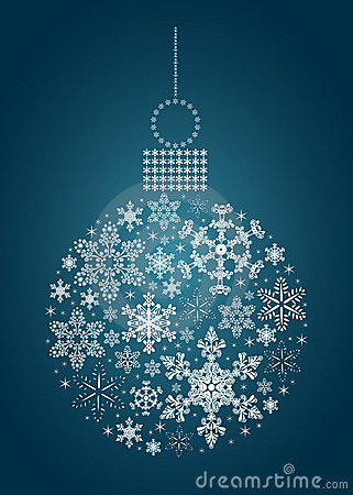 Snowflake Bauble
