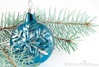 Snowflake Christmas ball