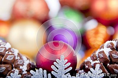 Snowflake Christmas Decoration soft focus