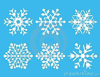 Snowflake Collection Royalty Free Stock Photography - Image: 3021687