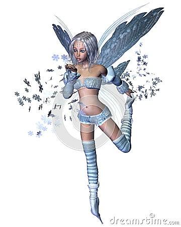 Snowflake Fairy - 1