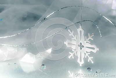 Snowflake Holiday Background