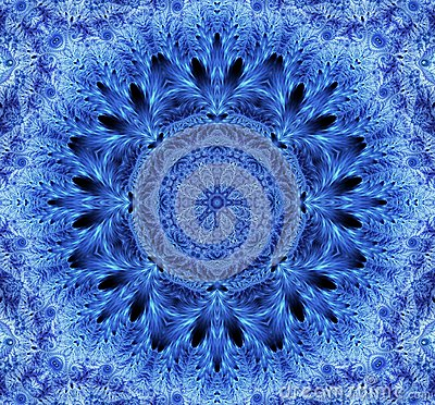 Free Snowflake Kaleidoscope Stock Images - 49224484