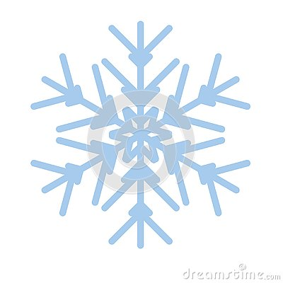 Free Snowflake Winter New Year Blue Art Symbol Icon Royalty Free Stock Image - 136176926