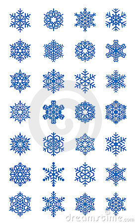 Free Snowflakes Stock Photography - 22236232