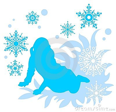 Snowflakes κοριτσιών