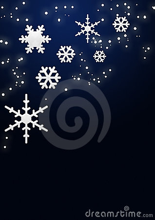 Free Snowflakes And Stars Stock Photography - 6106432