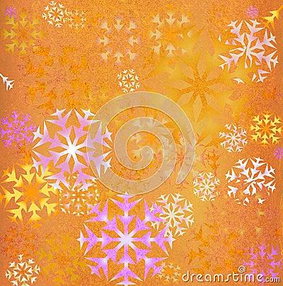 Free Snowflakes Background Royalty Free Stock Photos - 1817408