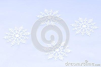 Snowflakes background
