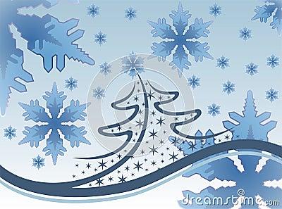 Snowflakes and Christmas