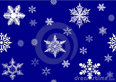 Snowflakes , vector file