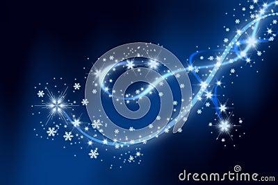 Snowflakes show