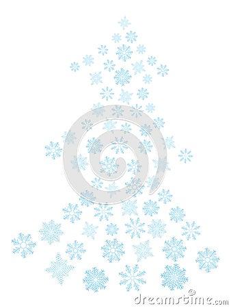 Snowflakes Tree