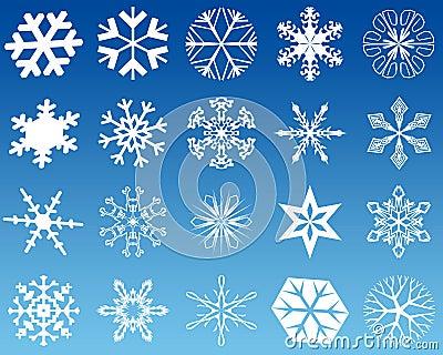Snowflakes twenty
