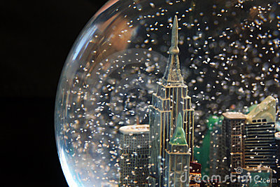 Snowglobe with Cityscape