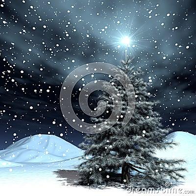 Free Snowing Christmas Stock Photo - 1146980