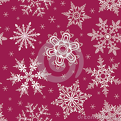 Snowing seamless background