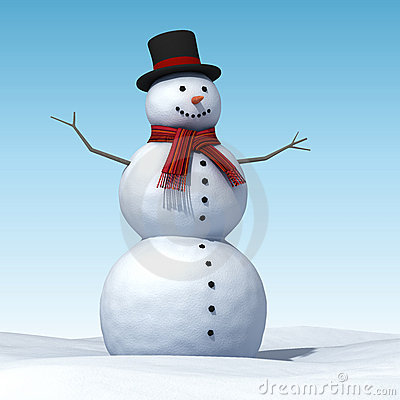 Free Snowman Royalty Free Stock Images - 12235799