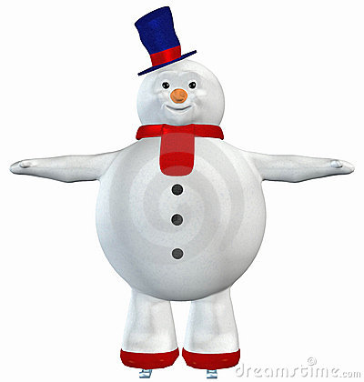 Free Snowman . 16 Stock Images - 3400924