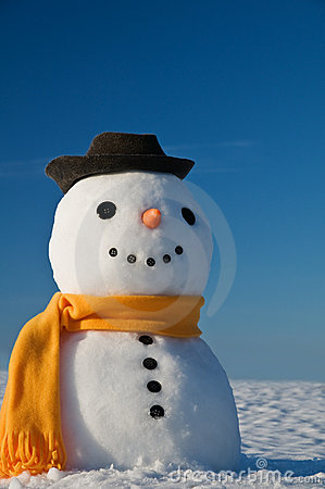 Free Snowman Royalty Free Stock Image - 16667066