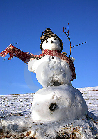Free Snowman Royalty Free Stock Images - 1724009
