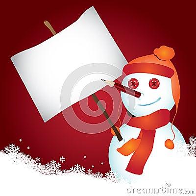 Free Snowman Stock Photography - 17326882
