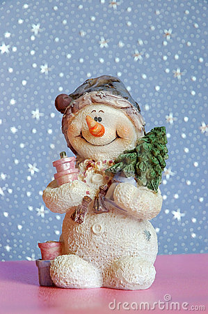 Free Snowman Royalty Free Stock Photography - 259567