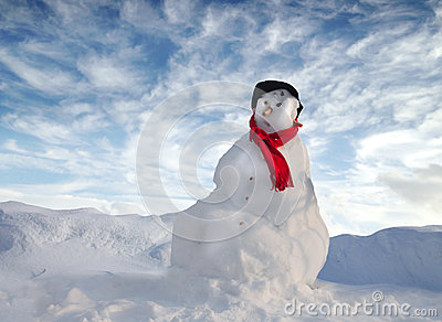 Snowman Stock Images - Image: 27777514