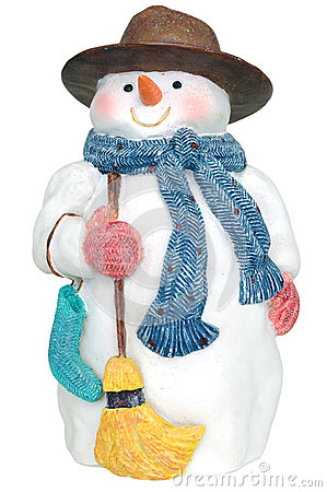 Free Snowman Stock Photo - 27916740