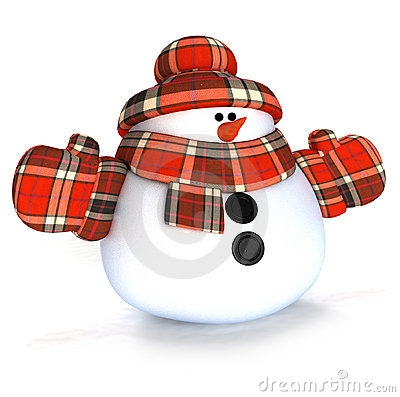 Free Snowman Royalty Free Stock Photography - 3722287