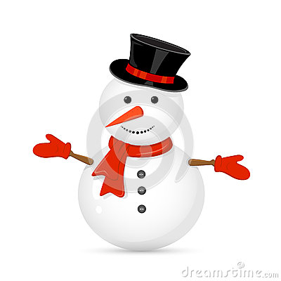 Free Snowman Stock Image - 46997141