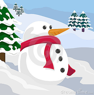 Free Snowman Royalty Free Stock Image - 668926