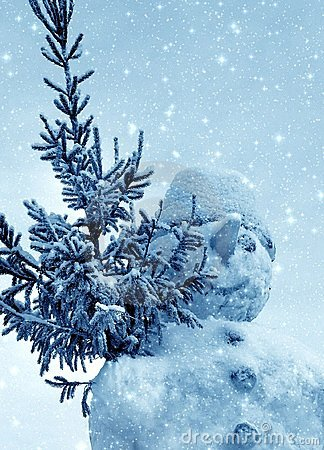 Free Snowman And Snow Stock Images - 1575964