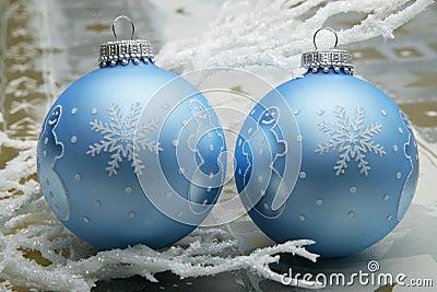Snowman christmas balls