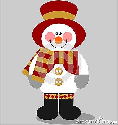 Snowman color 03