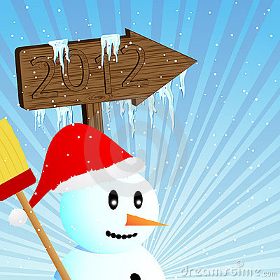 Snowman goes to 2012
