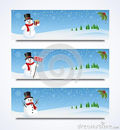 Snowman Header