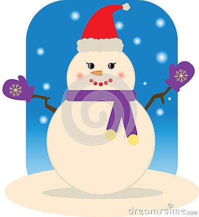 Snowman (Lady)