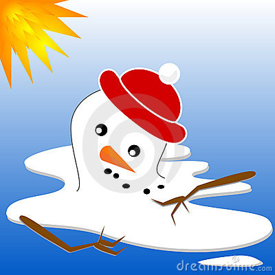 Snowman Puddle Clipart Snowman-melt-3521106.jpg