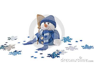 Snowman, stuffed toy