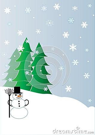 Snowmen and Chrismas Trees