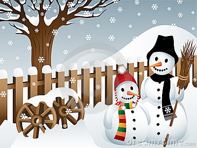 Snowmen in a Country