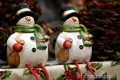 Snowmen decorations