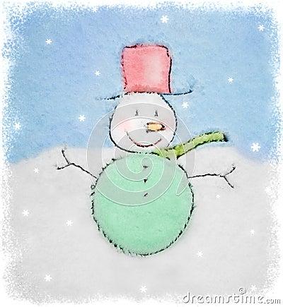 Snowmen design