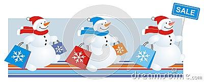 Snowmen sale